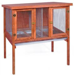 Rabbit Cages - Every Bunny Needs a Secure Place to Live #rabbit_hutches #rabbit_hutch_plans #bunny_homes