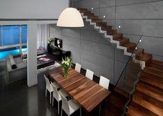 עיצוב אדריכלי - דירה ברמת השרון   משרד אדריכלים ועיצוב פנים דורית סלע Diy Backpack, Stairs, Interior Design, Home Decor, Nest Design, Stairway, Decoration Home, Home Interior Design, Room Decor