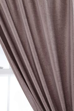 $49 Textured Velvet Curtain Good for those mornings when you really don't want to see the sun!
