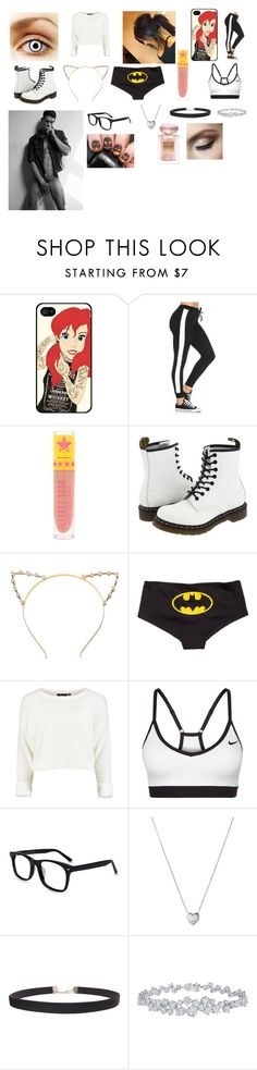 """My first set"" by psychokittykat619 ❤ liked on Polyvore featuring beauty, Samsung, Dr. Martens, H&M, NIKE, Links of London, Humble Chic, Harry Winston, Giorgio Armani and plus size clothing"