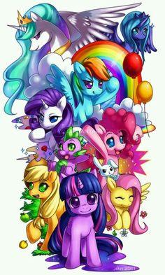 My little pony ( Friendship is magic )