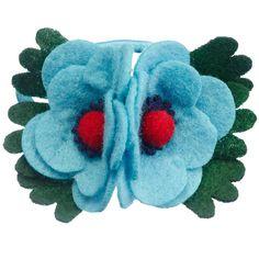 Gifts Under £15 | Felt Flower Hair Bobble | CathKidston