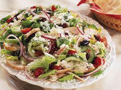 Greek Chicken Salad-gonna try this in a jar