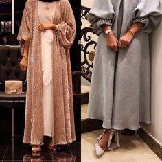 Street Hijab Fashion, Abaya Fashion, Muslim Fashion, Modest Fashion, Fashion Dresses, Hijab Elegante, Hijab Chic, Casual Hijab Outfit, Abaya Designs