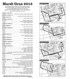 Mobile Mardi Gras Schedule - www.mobilebay.org