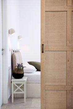 Antamoma Suites in Kythnos. Construction & Design until the final detail by Polisgram Architects Hotel Room Design, Hotels Design, Hotels Room, Room Design, Interior Design, Tall Cabinet Storage, Construction Design, Suites, Room