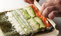Y Food, Food And Drink, Bento Recipes, Cooking Recipes, Shrimp Sushi, Sushi Party, Kimbap, Sushi Time, Asian Recipes