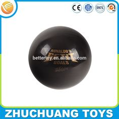 """Check out this product on Alibaba.com APP solid printed 6"""" hollow plastic balls black"""