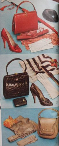 1950s Handbags Purses And Evening Bag Styles