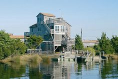 AVON Vacation Rentals | Local Hero - Canalfront Outer Banks Rental | 259 - Hatteras Rental