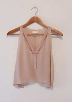 SALE FALL 2012 in Odalisque Tank in Nude Ready by ItsOkayMyDear