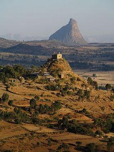 Abba Pentalewon Church, Aksum, Ethiopia. Not too much longer till I get to see this place in person :0)