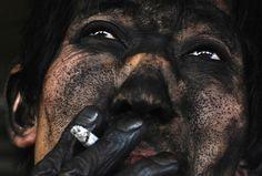 Trabalhador de mina de carvão – China