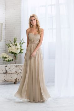 Gold Bridesmaid Dresses: 17 Glittering Gowns Your Maids Will Love