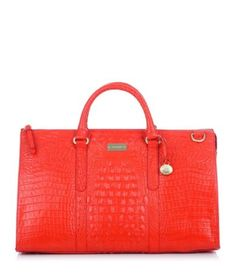 Brahmin Melbourne Collection Weekend Bag in Firecracker $395