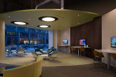The Verve Two Alliance Center - in Atlanta, GA #smalloffice #commercialspaces #commercialinteriors #design #flooring