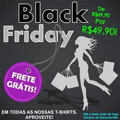 A Black Friday Vanity Rock já está valendo! Frete Grátis em Todas as nossas T-Shirts.  E um Super Desconto: De R$69,90 por R$49,90. Aproveite!!!  www.vanityrock.com.br  #blackfriday #blackfridaybrasil