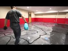 REFLECTOR ENHANCER - Metallic Epoxy Floor Over Concrete. Victoria B.C - South Island Surfaces - YouTube