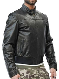 Giubbotto di pelle mod. Cool - Pellein.com - Leather Jacket for Man