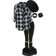 Designer clothes, shoes & bags for women SSENSE my town // hollywood undead by bands-are . Cute Emo Outfits, Punk Outfits, Tomboy Outfits, Outfit Jeans, Teenager Outfits, Teen Fashion Outfits, Swag Outfits, Grunge Outfits, Outfits For Teens