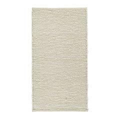 Ihr Webteppich: weiß, robust und für jeden Raum perfekt geeignet!
