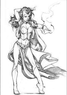 scarletwitch commission by keucha.deviantart.com on @deviantART