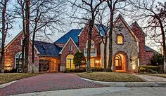 Elegant & luxurious details throughout this 7 BR-6.1 tucked away in a private gated community. Beautiful treed cul-de-sac lot overlooking greenbelt. Resort style backyard with diving pool, waterfall, multi-level patios and grill. Exercise, media & game room on lower level. Fabulous finishes, exquisite trim, handscraped hardwoods & travertine floors. strip_tags