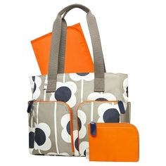 Orla Kiely for Target Large Floral Print Diaper Bag Tote