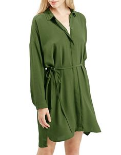 Women's | Dresses | Self-Tie Shirt Dress | Hudson's Bay
