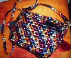 MARLY THIBES  BLOGGER: ( FAZENDO ARTE E CUSTOMIZANDO ): bolsa croche com plastico especial de embalgens de...
