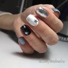Conheça o melhor curso online de manicure! Aycrlic Nails, Xmas Nails, Nail Manicure, Christmas Nails, Hair And Nails, Christmas Star, Dream Nails, Love Nails, Pretty Nails