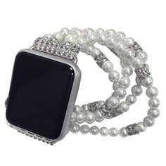 Specification: Compatible for Apple watch Series 1 Series 2 Series 3  Band Material: Mineral, Glass pearl Condition: 100% Brand New Package include: Watch Band x 1 Video Instafolio Pro - 1 Video Instafoliois a WordPress theme that aims to give local and video consultants the perfect portfolio... see more details at https://bestselleroutlets.com/automotive-parts-accessories/product-review-for-kobwa-beaded-watch-band-for-apple-watch-38mm-or-42mm-faux-pearl-handcrafted-iwatch-re