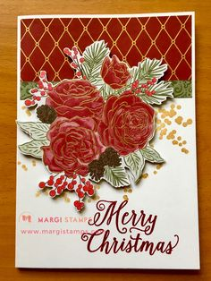 Easy to fussy cut the alternate image from the gorgeous DSP. Easy to fussy cut the alternate image from the gorgeous DSP. Christmas Time Is Here, Christmas Cards To Make, Xmas Cards, Christmas Holidays, Stampin Up Christmas, Christmas Greetings, Handmade Christmas, Easter Table, Easter Party