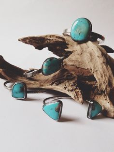 Turquoise Cuff Bracelet Hammered Sterling by sierrakeylin