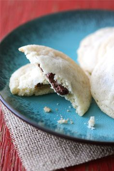 Nutella Stuffed Sugar Cookies. Just made these and substituted beet sugar. They're AWESOME! Make them.
