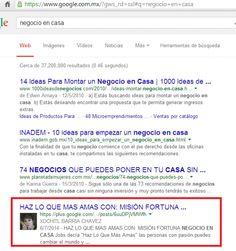 Misión Fortuna Desde Tu Casa: COMO TENER TU BLOG EN LA PRIMERA PAGINA DE GOOGLE ... Google, Blog, Home, Blogging