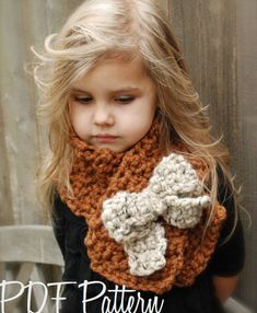 Crochet PATTERN-The Tyeleigh Scarf (Adult,Child, Toddler sizes) also available in Made to Order. $5.50, via Etsy.