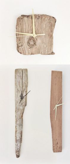 34 Wooden Wall Clocks To Warm Up Your Interior #woodworkingbench #WoodworkingClocks