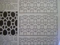CROCHET STITCH PATTERN  6-2/3-3 mesh