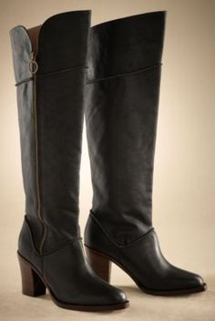 Ava Leather Boot from Soft Surroundings