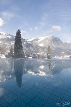 Entspannung in den Bergen im Sport-Wellnesshotel Bichlhof, Kitzbühel, Österreich