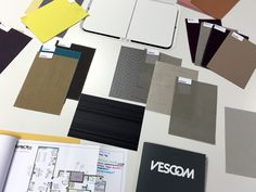 November 2015. Meetings with the Vescom team to discuss fabrics for our new showroom.