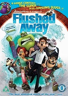 Watch Flushed Away DVD and Movie Online Streaming Cartoon Movies, Hd Movies, Movies And Tv Shows, Movie Tv, Disney Movies, Shrek, Flushed Away, Hd Streaming, Streaming Movies
