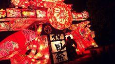 Yotaka festival. Toyama japan.