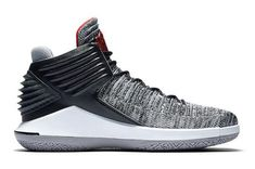 new york af9c6 35a0a 2018 Black Cement Air Jordan 32 XXXII Black University Red-White-Cement  Grey Black