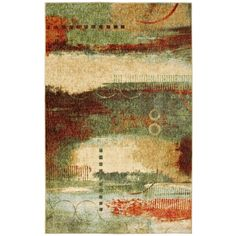 Green,5' x 8' 5x8 - 6x9 Rugs: Enhance your home's comfort level and protect your flooring with versatile 5x8 and 6x9 rugs. Free Shipping on orders over $45!