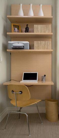 Office Guest Room Ideas | Double duty: Home office and guest room