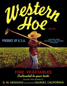 Western Hoe, for the cupboards