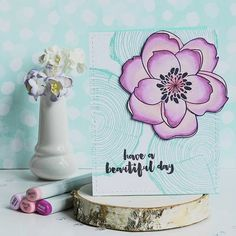 This card can be found on Flickr and our Pinterest page. Another #EssentialsbyEllen card by @ilovestamping!! #EllenHutsonLLC #PinSightsChallenge Link to Pinterest boards in bio. by ellenhutsonllc