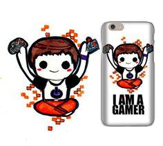 iPhone 6 case  iPhone case  i6 Phone case  Gamer Gift  by TONOHMI